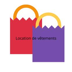 Location de Vêtements 1 mois  Location de vêtements 29,99€