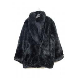 Manteau Fausse Fourrure, taille L Sans marque Manteau Occasion Femme de la taille L 30,00€