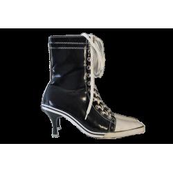 Bottes à talons, 38  Chaussure Occasion Femme Pointure 38 13,99€