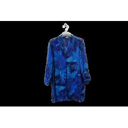 Chemisier Bleu bonheur, 50 Bleu Bonheur Chemise Occasion Femme Taille XXL 14,40€