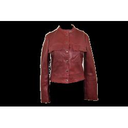 Veste courte cuir, taille S Mango Manteau & veste Taille S 36,00€