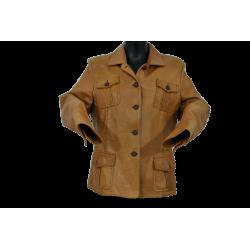 Manteau Cuir, taille 46  Manteau & Veste taille XL 58,80€