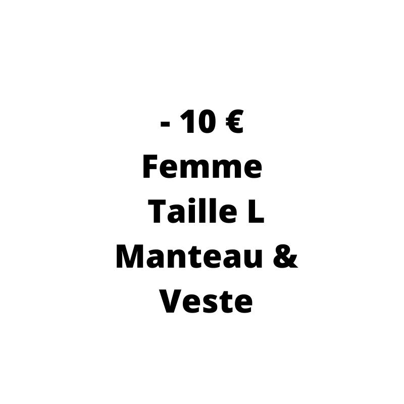 Manteau et Veste Occasion Femme pas cher - de 10 € de la taille L - Dressing MySongOriginal 3.0