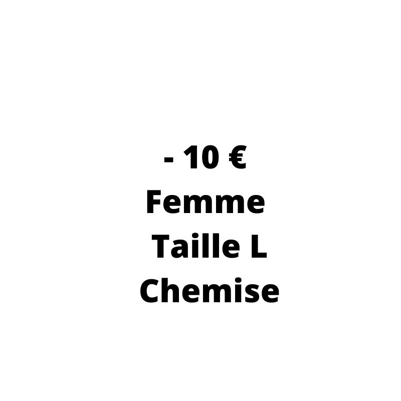 Chemise Occasion Femme pas cher - de 10 € de la taille L - Dressing MySongOriginal 3.0