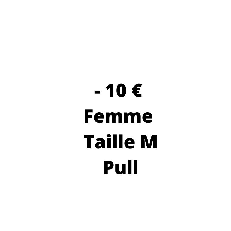 Pull Occasion Femme pas cher - de 10 € de la taille M - Dressing MySongOriginal 3.0