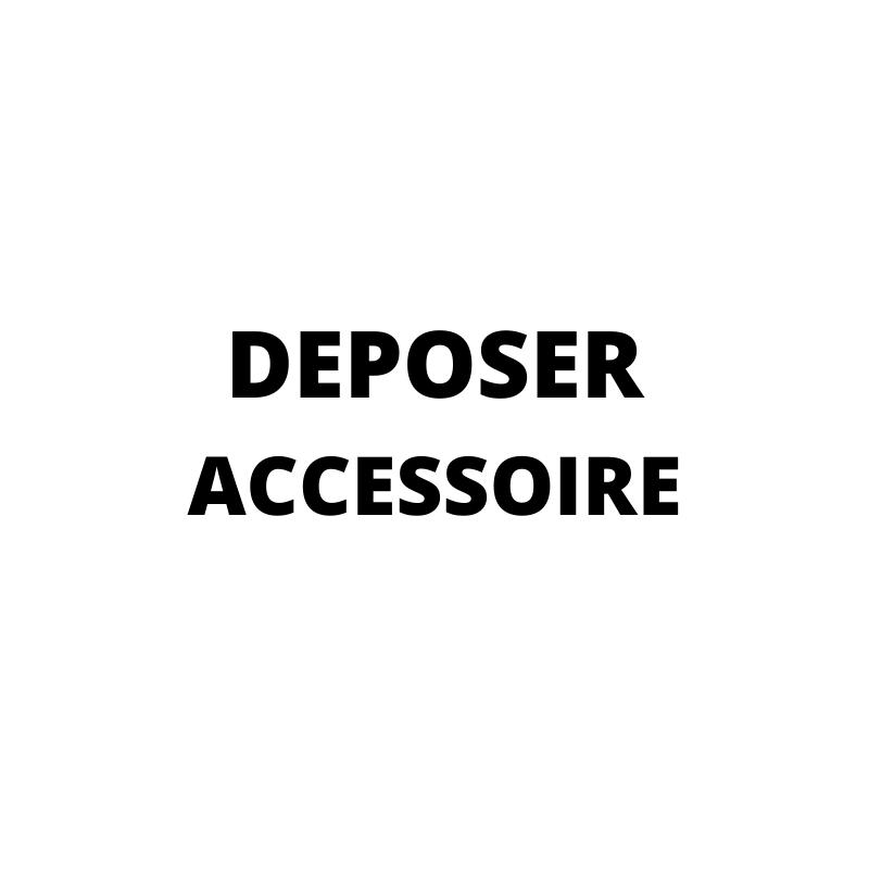 Déposer ses articles d'occasions Accessoire - Dressing MySongOriginal 3.0