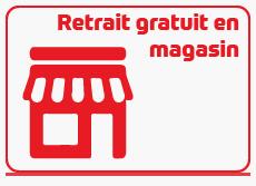 Retrait gratuit en magasin